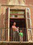 Balcon de notre appart Barcelone.JPG
